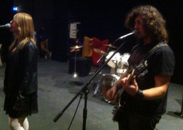 Le groupe rock Les Wolverine ( année 2013 )