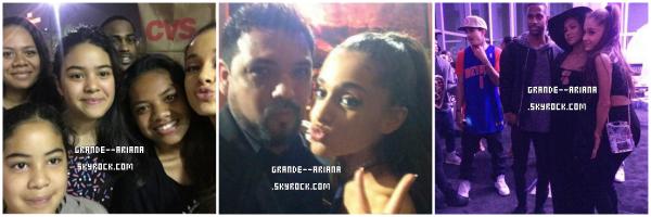 •• Ariana a une fête avec Big Sean et ses amis !