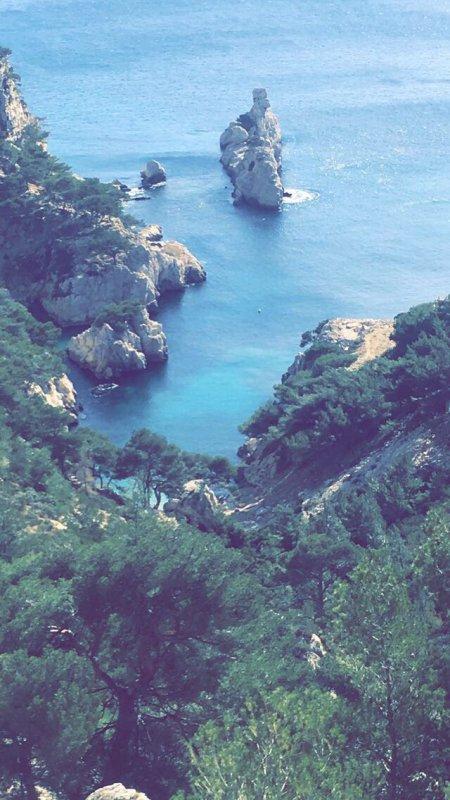 Calanques sugiton Marseille
