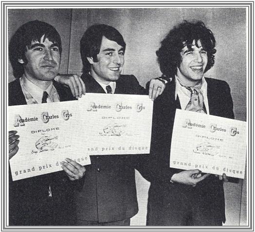 6 Mars 69 : Grand prix de l'Académie Charles Cros