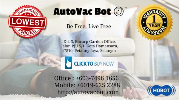 Amazing True Story - Hobot-268 ÆON Bukit Indah