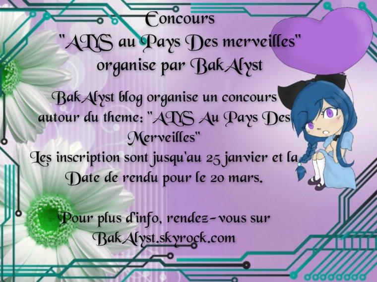"""Concours de dessin """"ALYS au pays des Merveilles EN COUR DE DELIBERATION"""