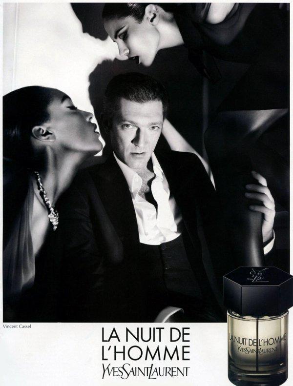 J'aime les pubs pour parfum, j'aime Vincent Cassel* ~