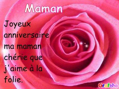 Joyeux anniversaire maman blog de laura bricole - Carte bon anniversaire maman ...