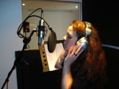 Thaly en studio