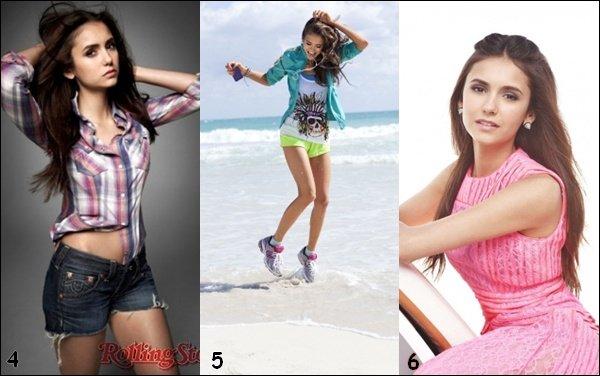 Quel est le meilleur photoshoot de Nina ?
