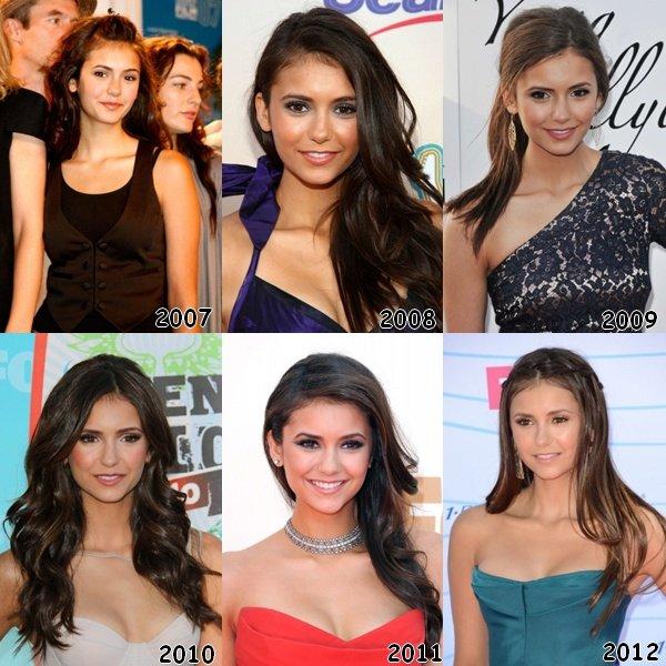 Evolution de Nina au fil des ans