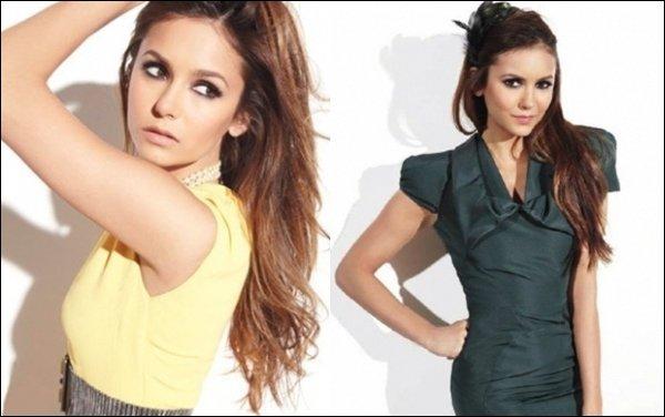 Découvre le photoshoot de Nina pour le magazine Ocean Drive