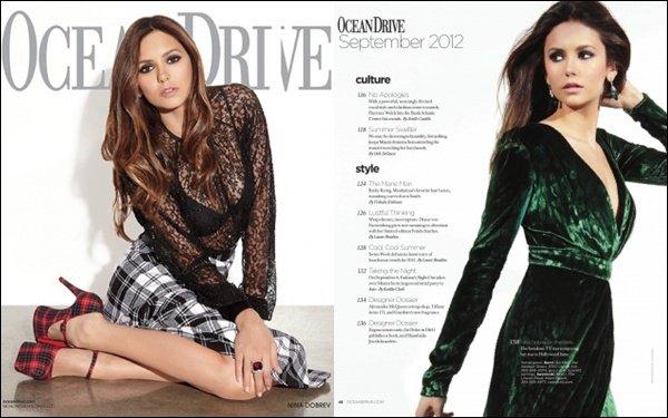 Découvre les scans du magazine Ocean Drive ou apparaît Nina