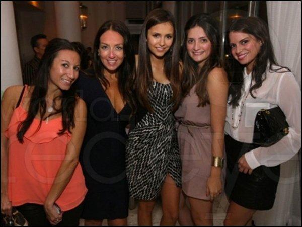 19 août : Nina a été aperçue dans le quartier de South Beach, a Miami