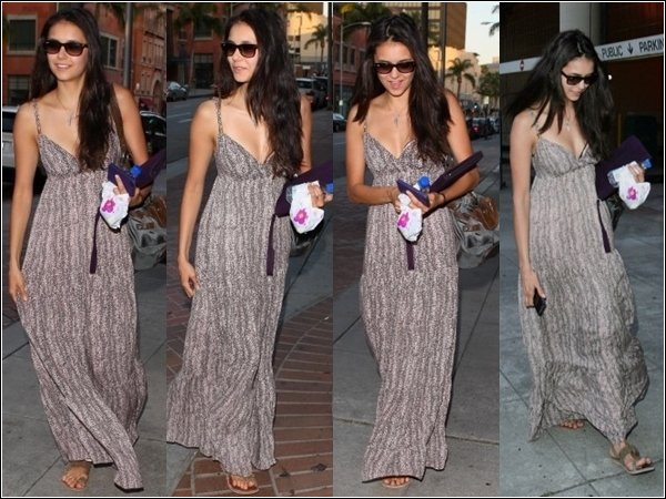 4 mai 2011 : Nina a Los angeles ( Flashback )