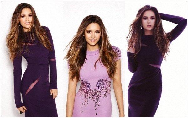 Découvre de nouvelle photos du photoshoot de Nina pour Fashion Magazine