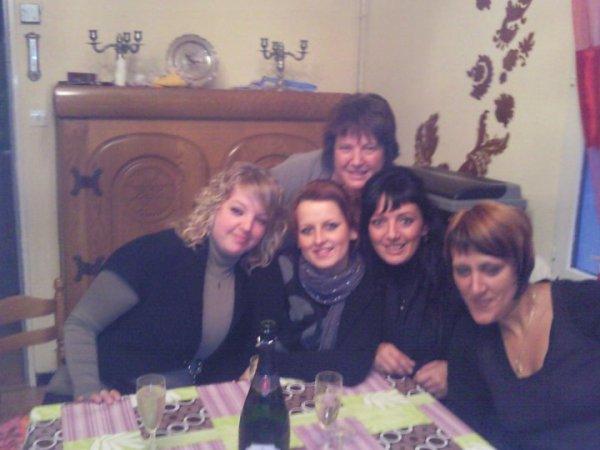 moi ma belle mere et mes belles soeurs