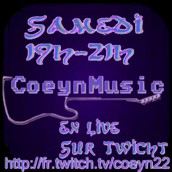 CoeynMusic en LIVE