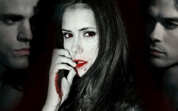 The Vampire Diaries =]