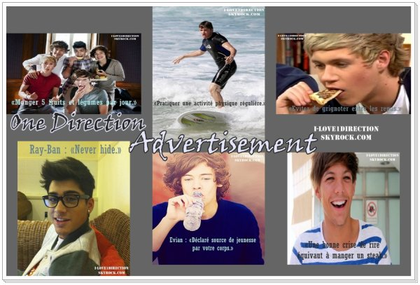One Direction Advertisement