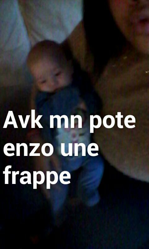 En direct avk mn pote ENZO♥