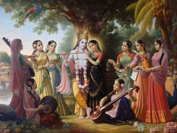 Krishna rahda rass