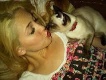 cher moi avec mon chat