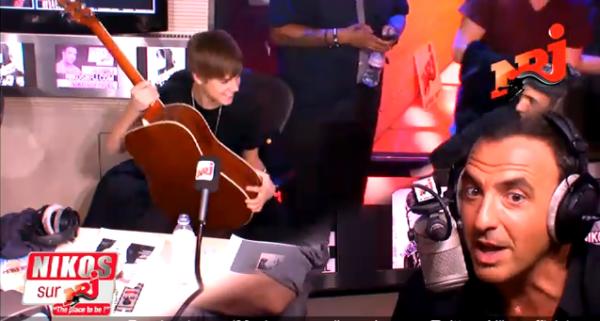 Justin Bieber : Les images de son passage à Paris
