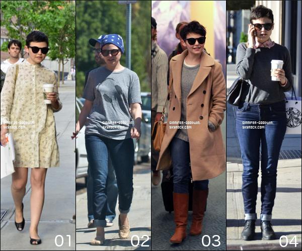 i  Les meilleures et pires tenues de 2012 (Candids) de Ginnifer, Top ou Flop ? A vous de choisir ... i