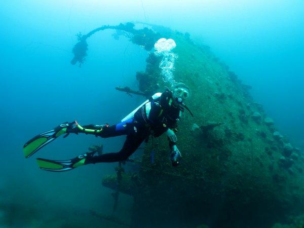 Epave Teshio Maru