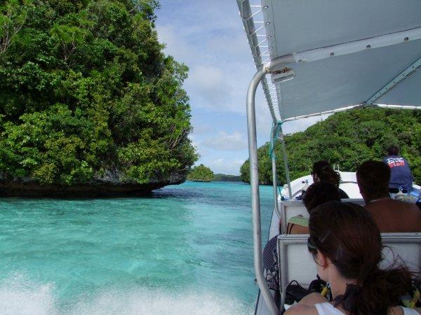 Slalom entre les îles