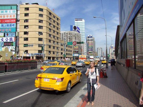 Taxi à Taipei