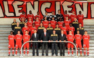 Photo de l'effectif 2010/2011