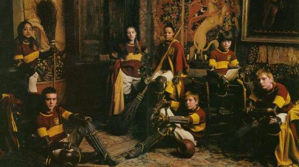 L'équipe de Quidditch de Griffondor