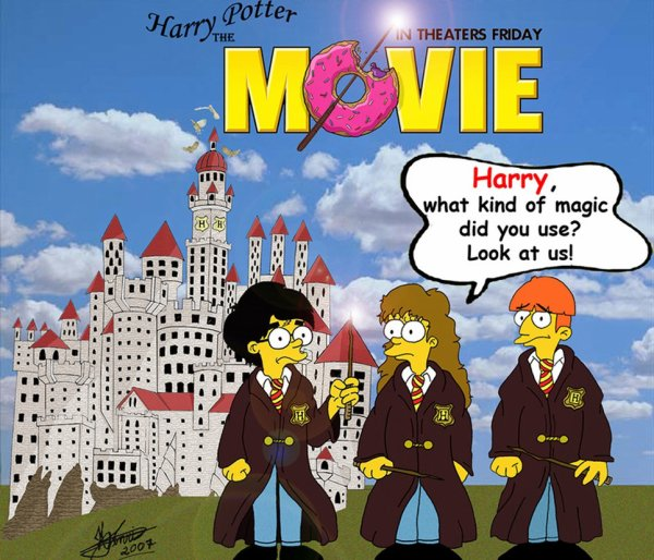 Harry Potter version Simpson