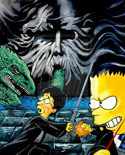 Harry Potter vs Bart Simpson