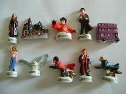 Les figurines Harry Potter dans les gallettes des Roi.