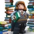 Hermione et sa tonnes de livres.