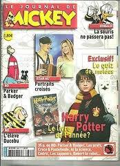 """Harry Potter dans """" Le journal de Mickey """"."""