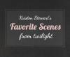 Les Moments Préférés De Kristen Dans Twilight