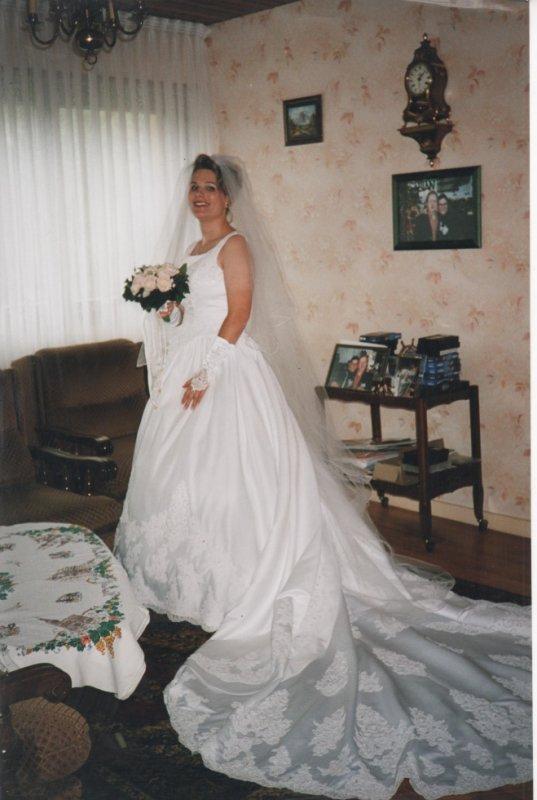 MA ROBE DE MARIEE SEPTEMBRE 2000