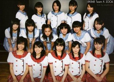 Les 1ere Team A,K,B
