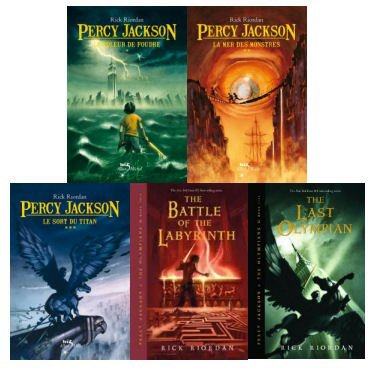 "Point lire 1 : ""Percy Jackson"""