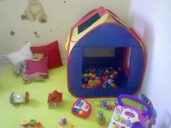 voici le coin consacré au enfants