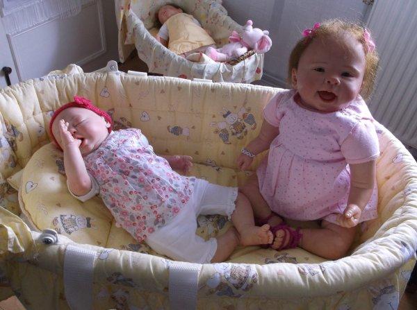 # Morgane et Diane, bien arrivées chez leur maman #