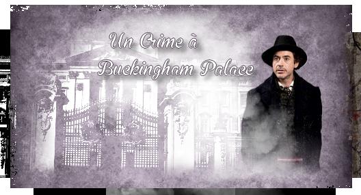 Intrigue et chapitres d'Un Crime à Buckingham Palace