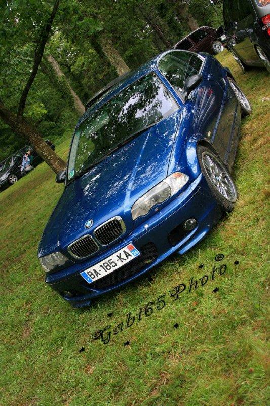 mon ancienne BMW une 320 Ci Pack M année 2000 <3