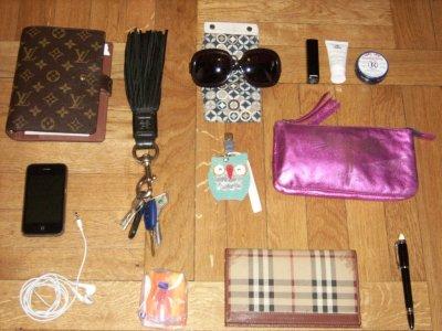 Ce qu'il y a in MY BAG  :p
