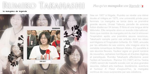 AUTEUR - Rumiko Takahashi