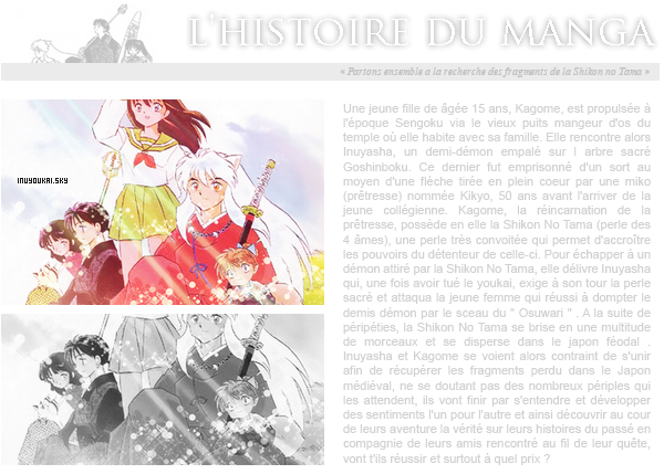 Présentation du manga