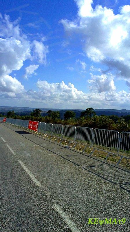 Sur la route après le tour .....