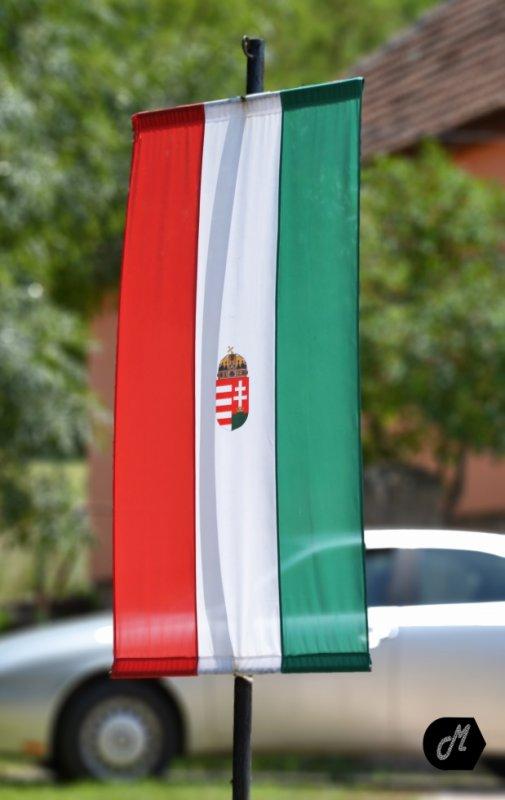 Drapeau de la Hongrie