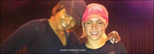 Shakira félicite Falcao sur Twitter