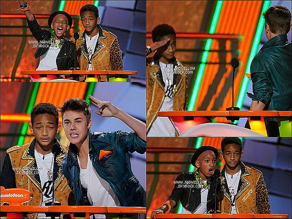 31.03.2012 : Willow et Jaden on était présente au Kids Choice Awards à Los Angeles .